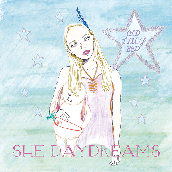 OLD LACY BED_SHE DAYDREAMS