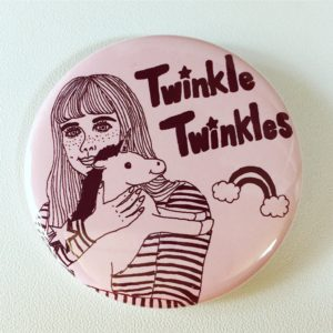 Twinkle Twinkles_缶バッジ(FLAKE)