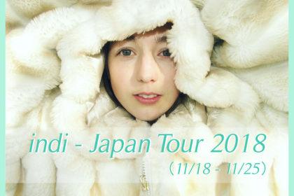 indi - Japan Tour 2018